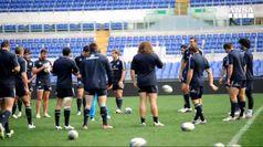 Rugby: O'Shea si presenta
