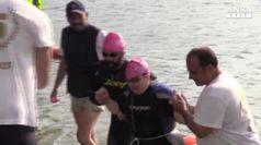 Traversata del Lago di Endine: la sfida di Francesca