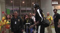 Usain Bolt arrivato in Brasile per le Olimpiadi