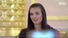 Russia, le lacrime di Yelena Isinbayeva