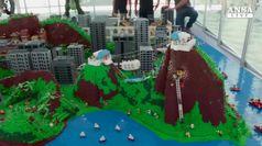 La citta' di Rio in versione Lego