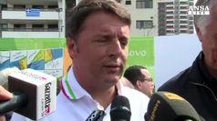 Rio 2016: Renzi a azzurri 'per oro n.200 ho pochi giorni..'