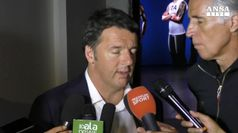 Renzi: su Olimpiadi Roma 2024 fatti tutti gli incontri, l'Italia c'e'.
