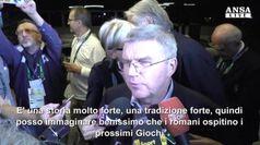 Thomas Bach, Roma 2024 e' una candidatura forte