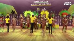 Usain Bolt a passo di samba