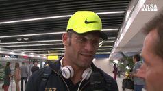 Rio, Clemente Russo rientra in Italia