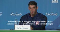 Phelps spiega l'addio in conferenza stampa