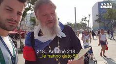 Rio 2016, c'e' anche il prete russo che si da' al bagarinaggio