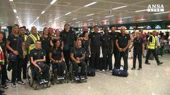 Partiti per Rio gli azzurri delle Paralimpiadi