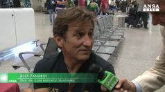Paralimpiadi, festa a Fiumicino per il rientro degli azzurri