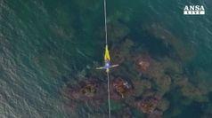 Sospeso sul mare, a Catania Red Bull Airlines