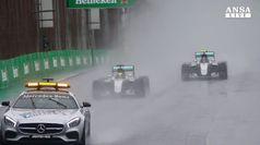 F1: GP Brasile, Hamilton vince davanti a Rosberg