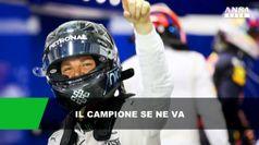 Addio a sorpresa di Nico Rosberg