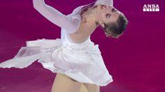Carolina Kostner trionfa a Zagabria