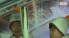 Svelata torcia olimpica Sud Corea 2018