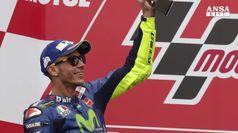 Motogp, Rossi secondo in gara n.350