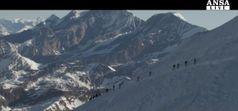 Sulle Alpi 900 atleti a maratona di ghiaccio