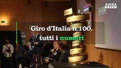Giro, i numeri dell'edizione n.100