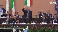 Malago' rieletto presidente del Coni