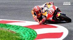MotoGp, Marquez in pole