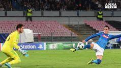 Si sblocca il Napoli in Champions