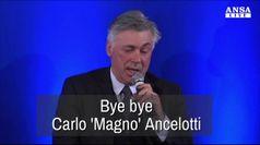 Bye bye Carlo 'Magno' Ancelotti