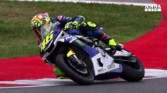 Moto: Rossi sogna Gp Aragon, e' gia' in pista a Misano