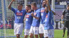 Napoli da solo in vetta, Juve stop a Bergamo