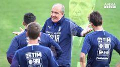 Italia in Albania per vincere. Buffon, 'ripartiamo'