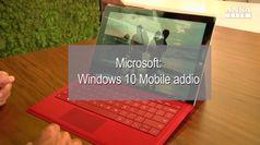 Windows 10 Mobile addio