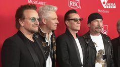 Gli U2 a Londra ricordano Nelson Mandela