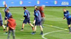 Mondiali, Azzurri a Coverciano