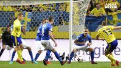 L'Italia perde a Stoccolma, i mondiali sono piu' lontani