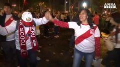 Peru' ai Mondiali dopo 35 anni, e' festa a Lima