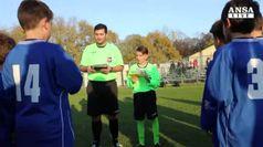 Esordisce l'arbitro piu' giovane d'Italia