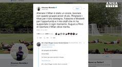 Montella, allenare il Milan 'un onore'