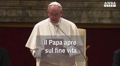 Il Papa apre sul fine vita