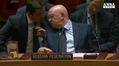 Nuovo veto Russia su armi chimiche in Siria