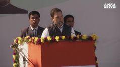 Rahul Gandhi succede alla madre Sonia