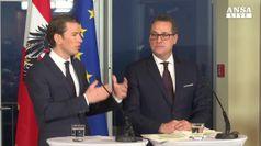 Nasce governo austriaco, ministri chiave a ultradestra