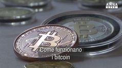 Come funzionano i bitcoin