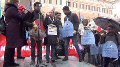 Roma, in piazza la rabbia dei precari della ricerca