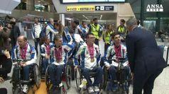 Nuoto: Mondiali paralimpici, rientro trionfale per azzurri