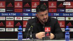 Milan, Gattuso: costruiamo tanto ma segniamo poco