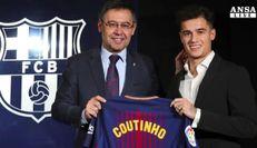 Coutinho al Barcellona, colpo da 160 milioni di euro