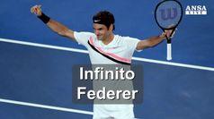 Infinito Roger Federer
