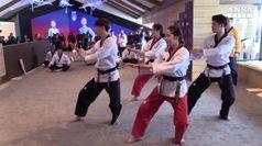 Olimpiadi, a Casa Italia il taekwondo unisce le Coree