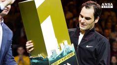 Federer ancora sul tetto del mondo