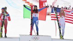 Giochi: terzo oro Italia, Goggia vince discesa