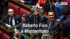 Roberto Fico a Montecitorio